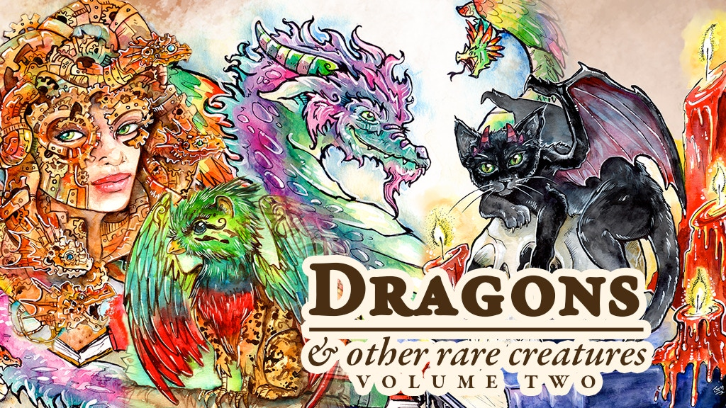 Dragons & Other Rare Creatures Vol 2 project video thumbnail
