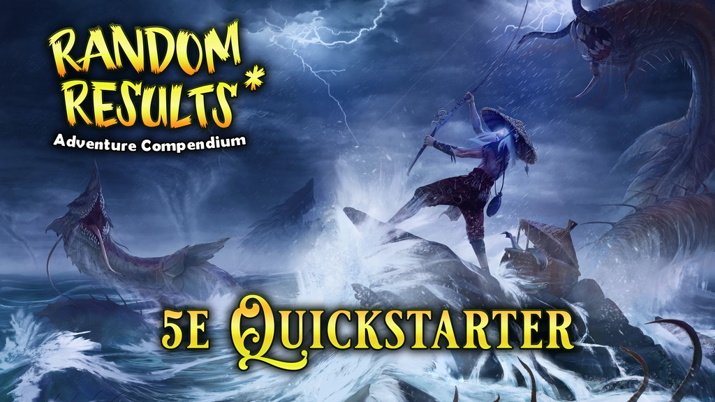 Random Results 5e Quickstarter project video thumbnail