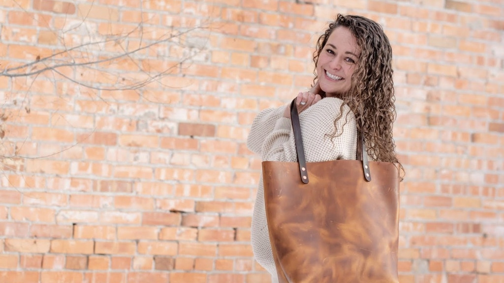 Make 100: Classic Leather Tote Bag project video thumbnail