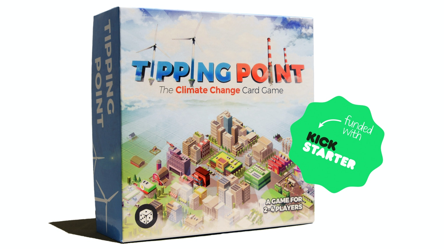 A semi-cooperative game where players must build cities and protect their citizens from severe weather!