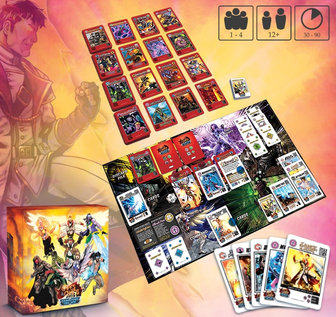 Capes and Chaos: Strategy Card Game