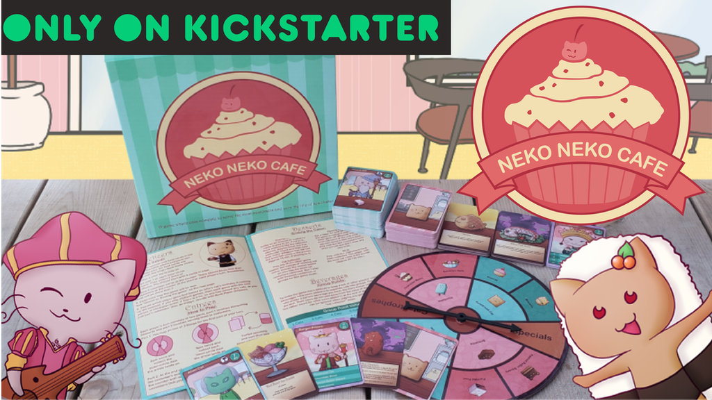 Neko Neko Cafe - The Board Game project video thumbnail