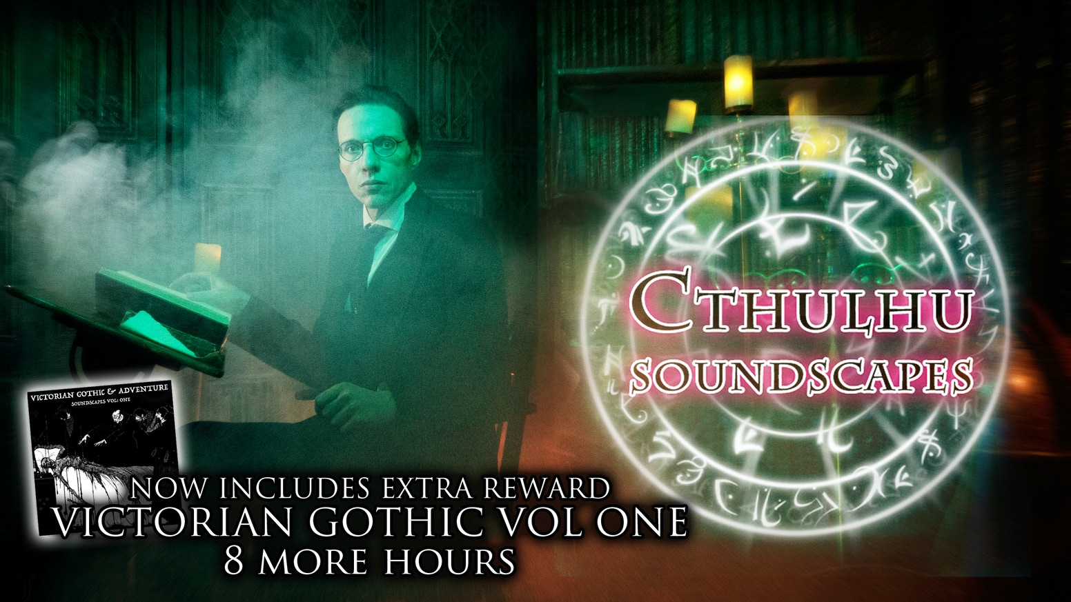 20 Selected Soundscapes from Vol 1-5. 8 Hours of ambience and drama for your roleplaying, board and Larp games.