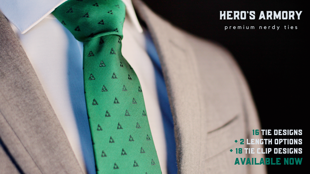 Nerdy Ties - a HERO'S ARMORY product project video thumbnail