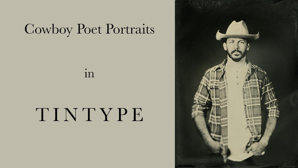 Project image for COWBOY POET PORTRAITS IN TINTYPE