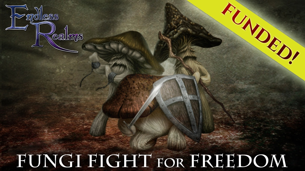 Fungi Fight for Freedom Adventure project video thumbnail