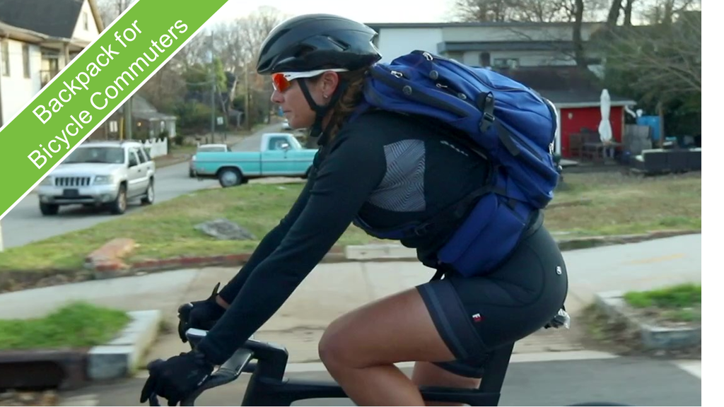 Bike to Work Backpack for Fearless Commuters project video thumbnail