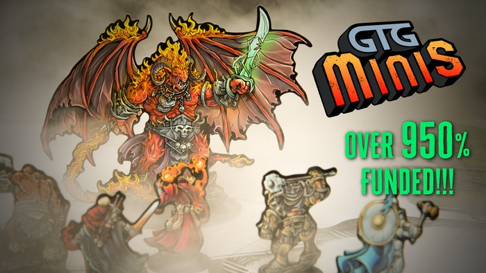 7 mini-sets with 300(+) Minis. Amazing artwork. Die-Cut. Ready to use. A Mini Made For Many Adventures To Come. Missed the campaign? Click the link below to pre-order the product at a discounted price!