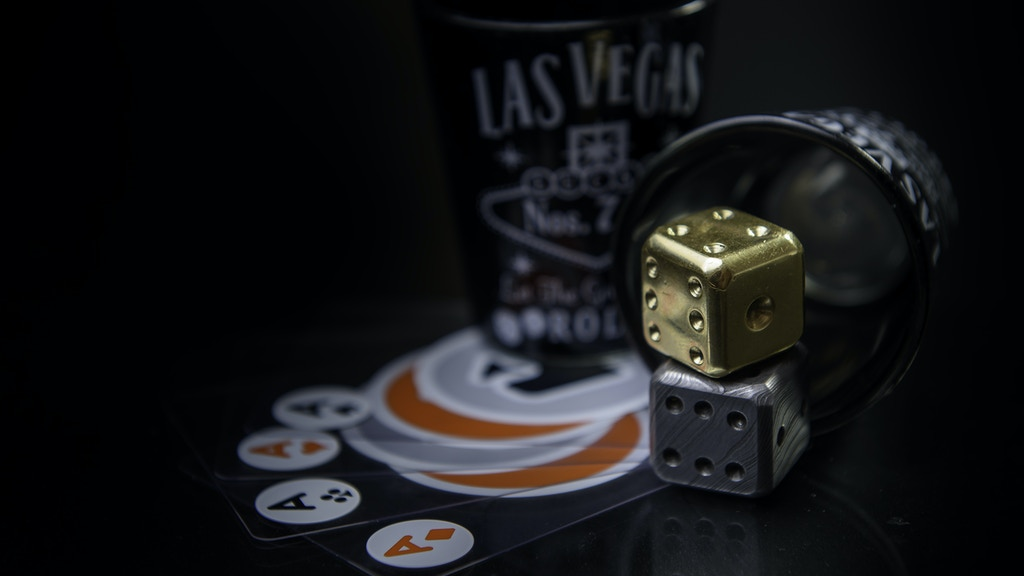 Damascus & Brass Dice( Personalize your dice )