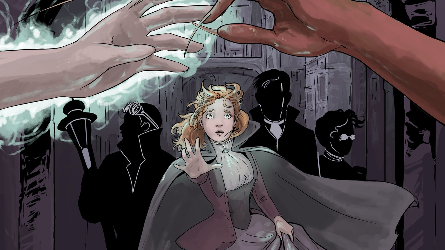Steampunk! Demons! Ghosts!  A disturbing dream leads Caitlin and the team to face off with a new enemy.
