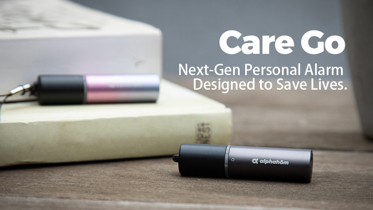 Care Go™, the personal alarm that helps you reach your loved ones when in trouble with real-time GPS tracking.
