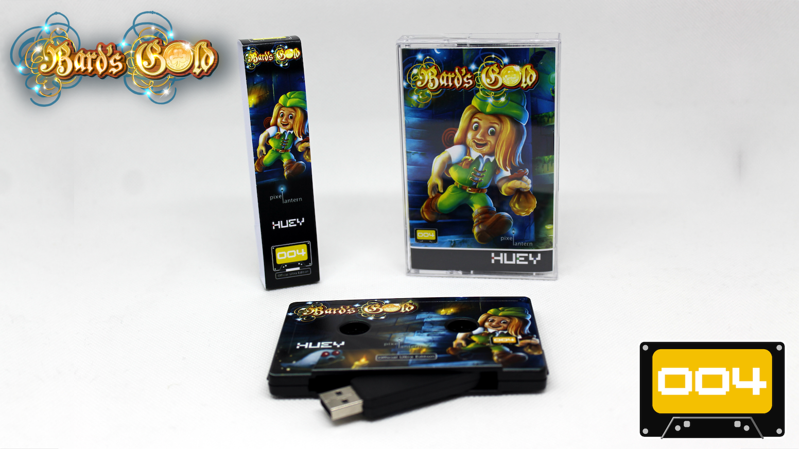 Make 100 - Collectors USB Cassettes featuring Bard's Gold (DRM-free) for Windows & Mac plus bonus features.