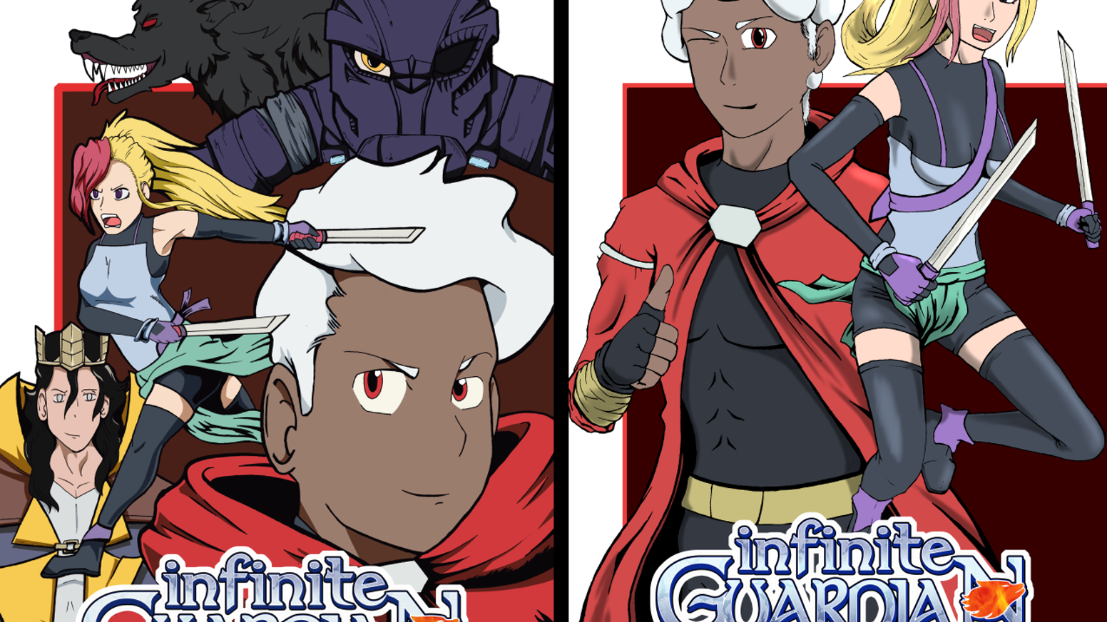 Infinite Guardian: from a machinima to a new comic series!