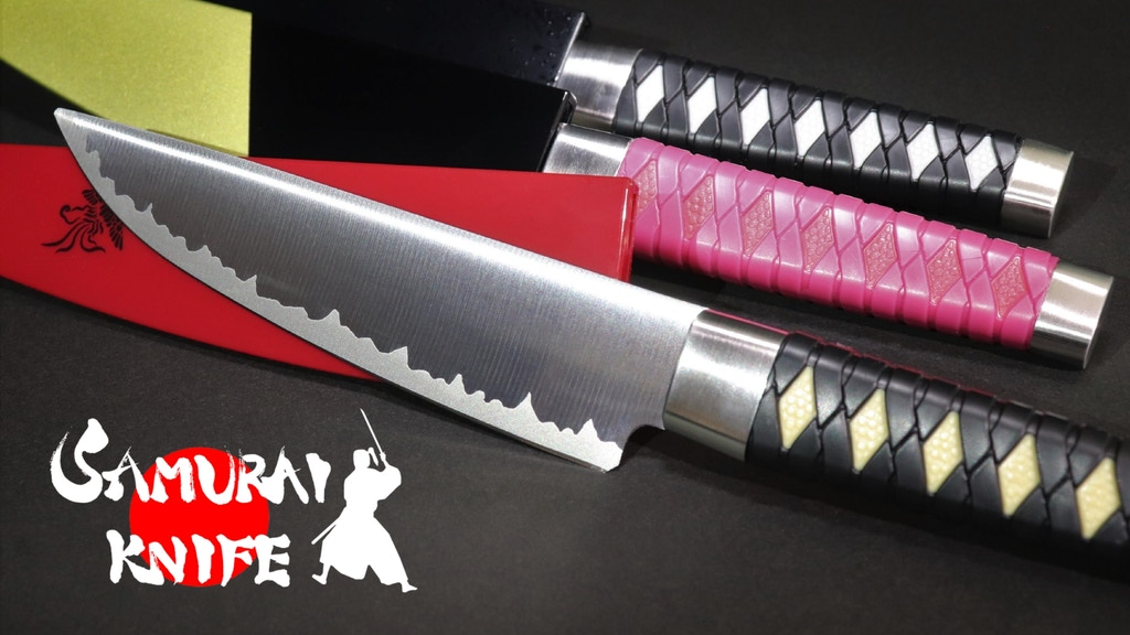 SAMURAI KNIFE - Made in Japan project video thumbnail