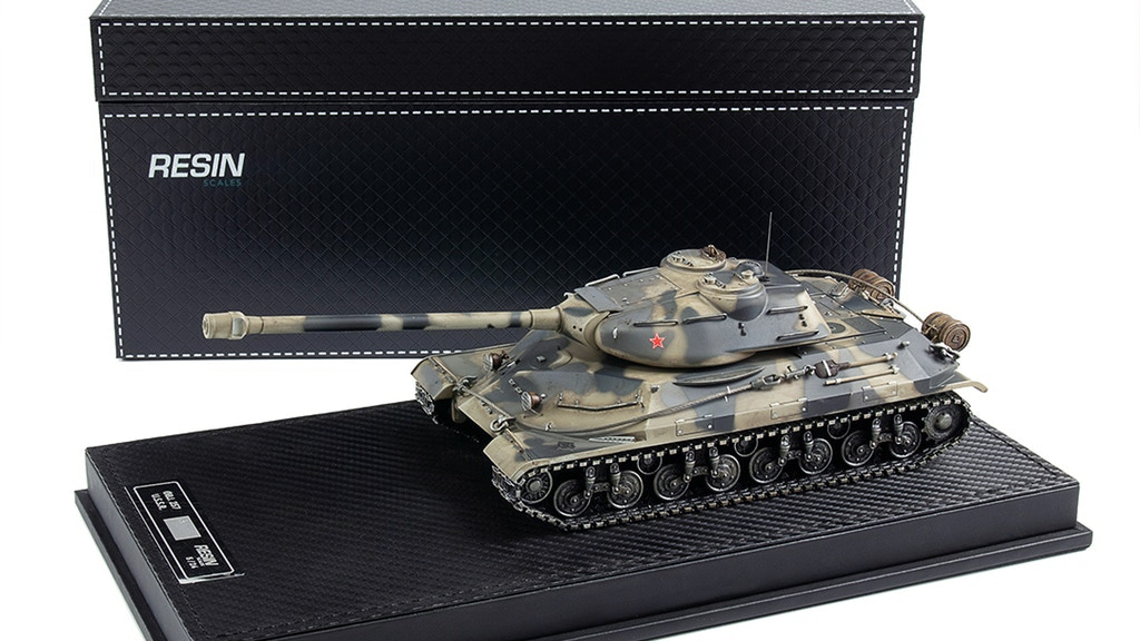 World of Tanks Object 257 collector scale model tank
