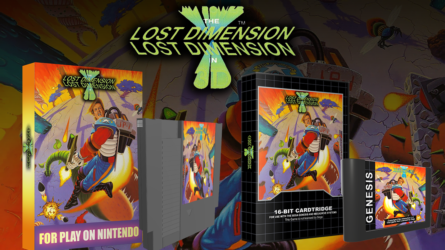 A New NES, Sega Genesis/Megadrive game! With re-releases for SNES, Turbografx  CD and CD32!