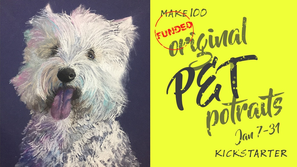 Make 100: Original Pet Portraits project video thumbnail