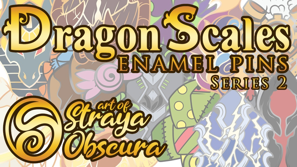 Project image for DragonScales Enamel Pins