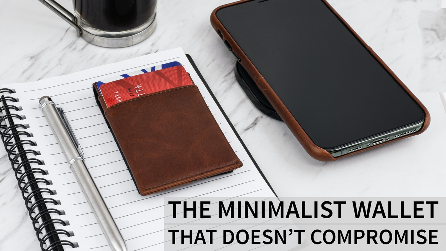 A wallet in pursuit of minimalism without compromising functionality.