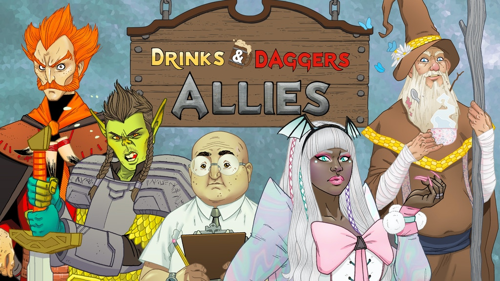 Project image for Drinks and Daggers: Allies