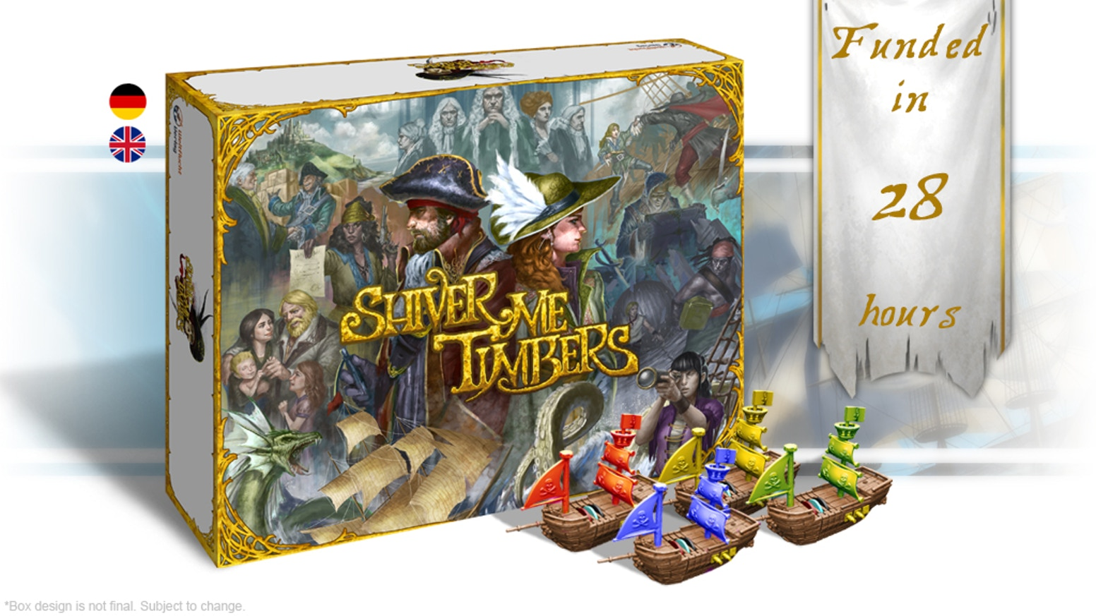 A Strategic Pirate Sandbox Game with Modular Miniatures