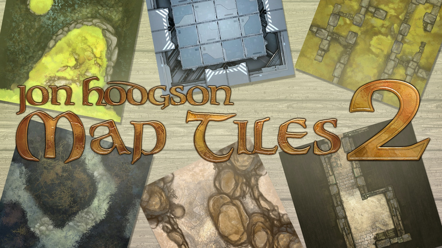 The next wave of affordable, flexible cardstock map tiles for RPGs and wargames by Jon Hodgson