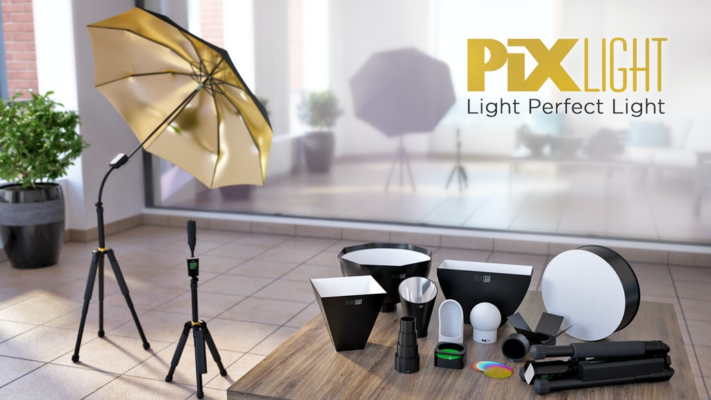 PiXLIGHT: A lightweight, portable, and off-camera speedlight project video thumbnail