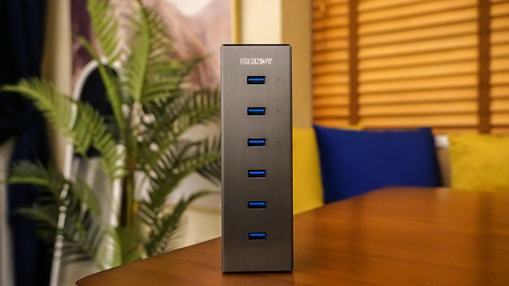 Shindy USB3.0 Hub: Professional Charging & Data Transmission