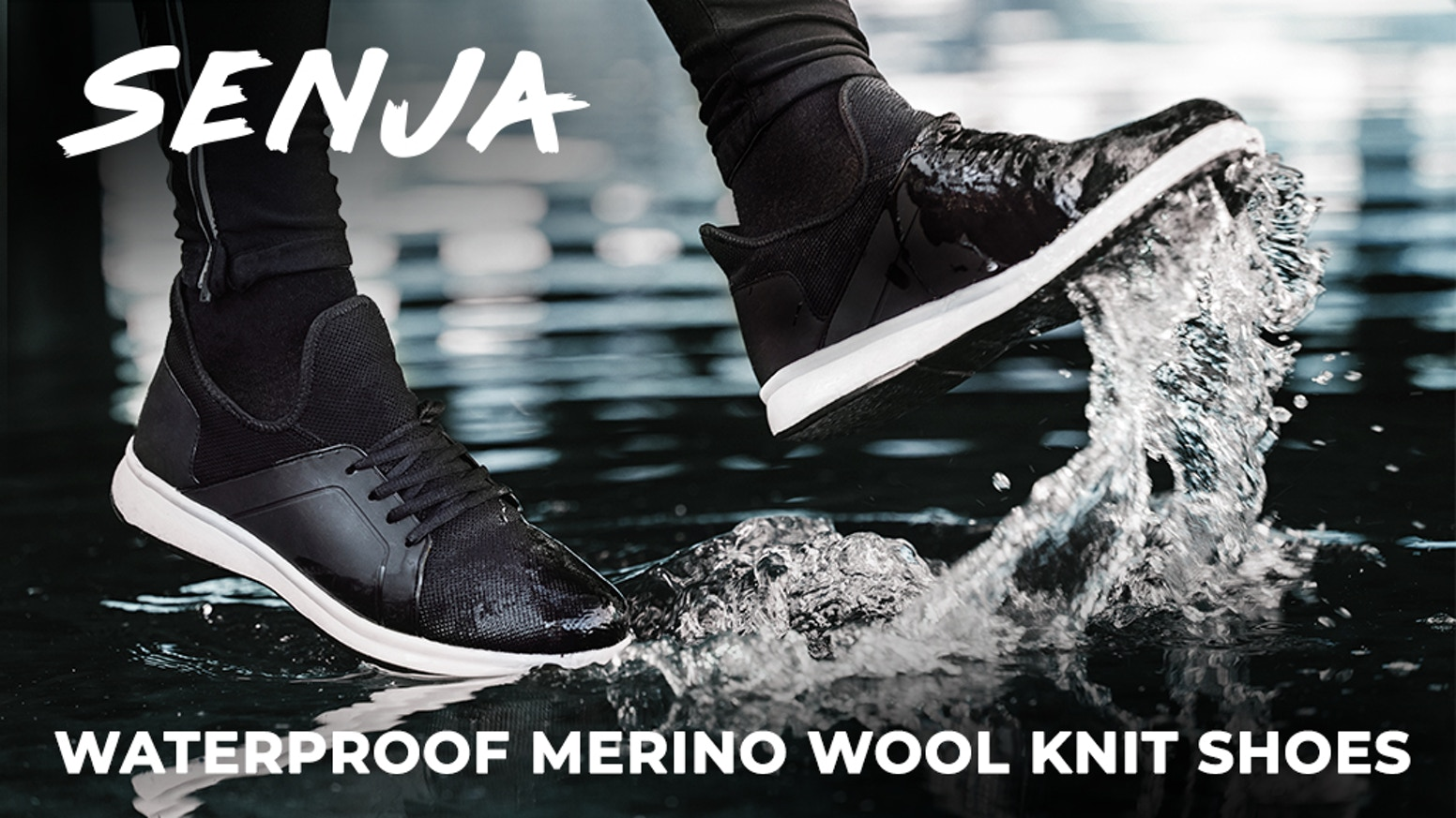 Wherever you wander, go further in Senja. Waterproof, lightweight, and breathable footwear for adventurers