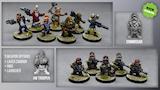 The 7 Dwarves. 28mm Sci-Fi Miniatures. thumbnail