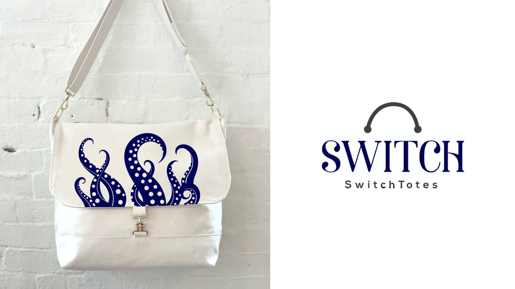 Make 100: Natural Canvas Bags featuring Switchable Flaps