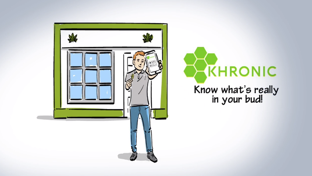 Khronic A.I. ™ Cannabis bud inspector mobile app project video thumbnail