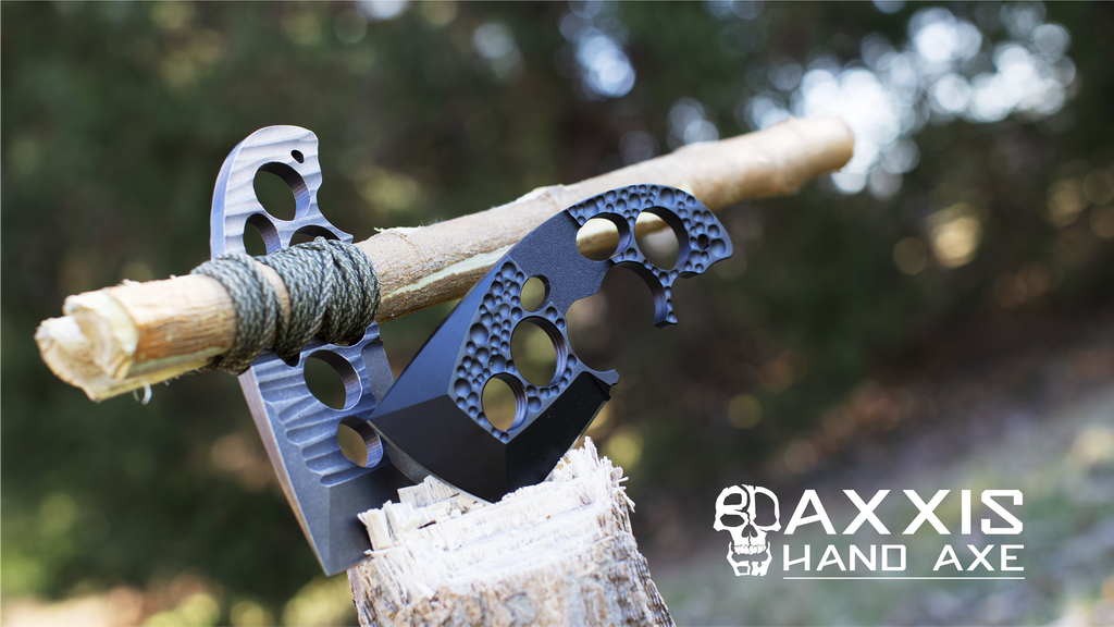 AXXIS Hand Axe: The Power Of An Axe In Your Pocket. project video thumbnail