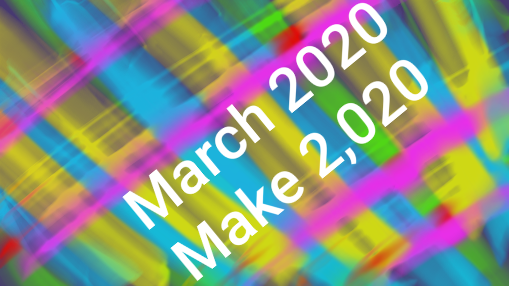 Project image for March 2020: Make 2,020 Abstract Digital Art Pieces