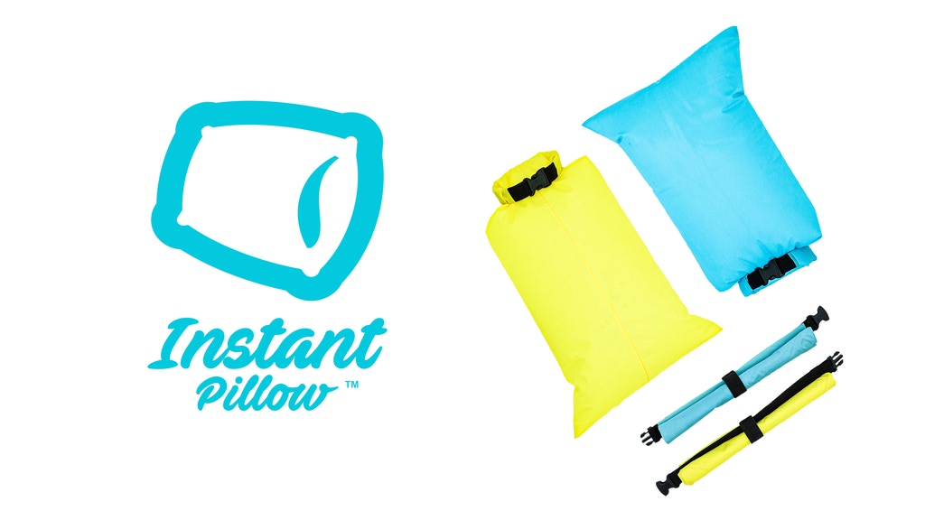 Instant Pillow: The Instantly Inflatable Pillow