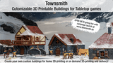 Townsmith - Customizable 3D Printable Fantasy Buildings thumbnail