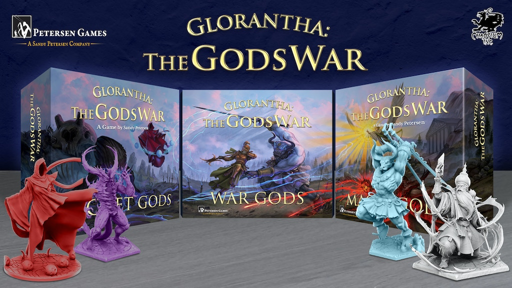 Glorantha: The Gods War (Reprint & NEW Expansions) project video thumbnail