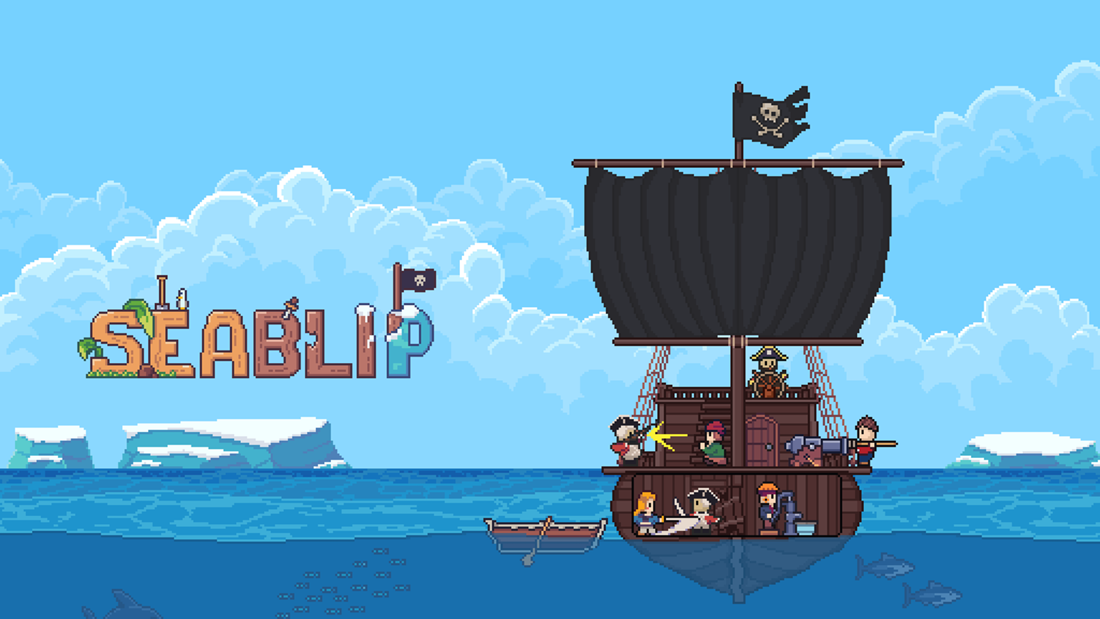 Seablip is a real-time tactical RPG. Fight pirates, dig for treasure, find quests, explore a massive handcrafted open-world!