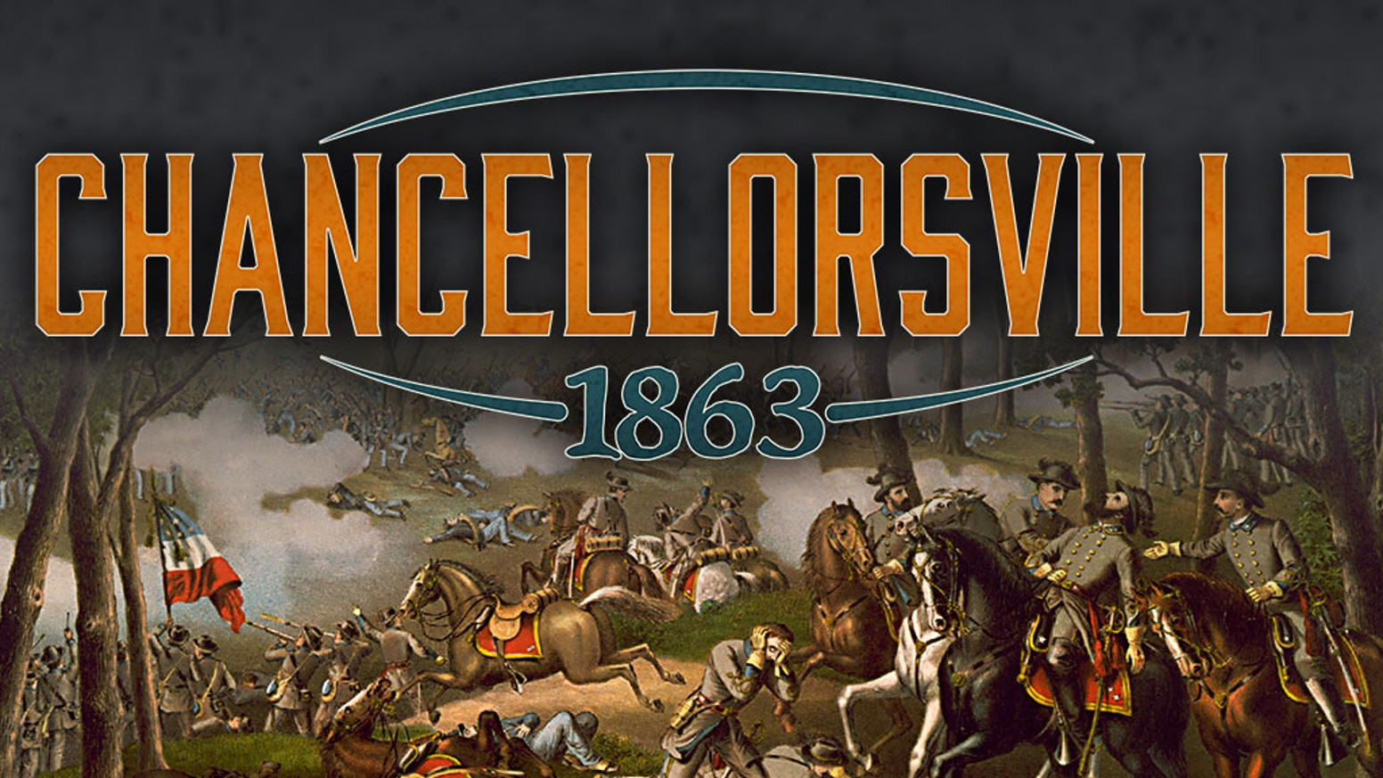 Playable in 1 hour.  For 1 to 2 players.  Innovative Civil War game with hidden movement, solitaire game engine, using military maps.