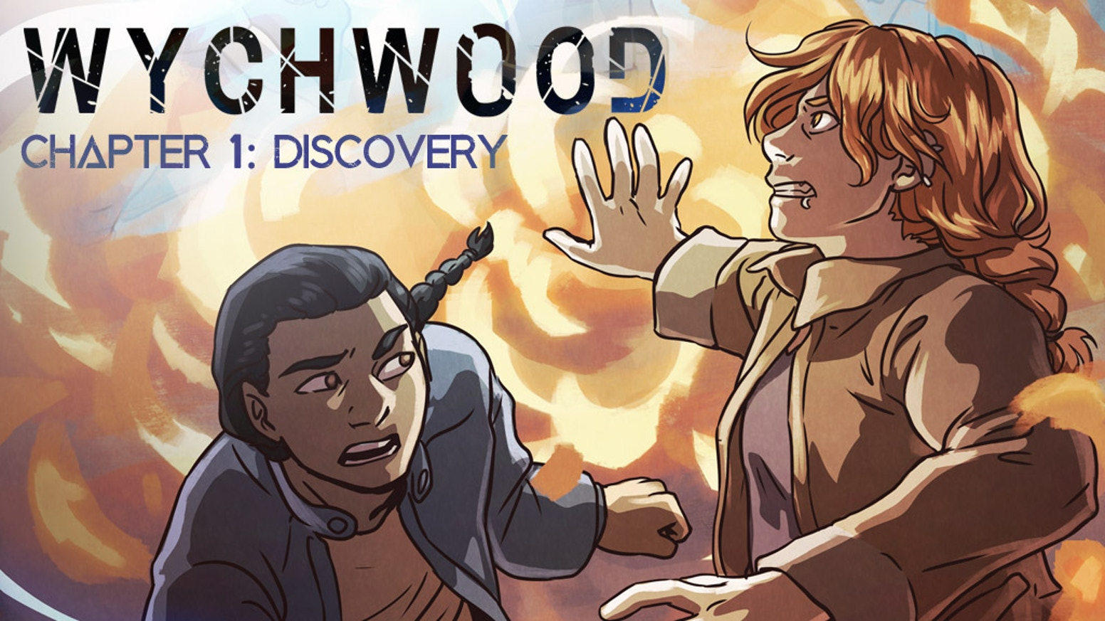 A limited-edition print run of the sci-fantasy webcomic Wychwood