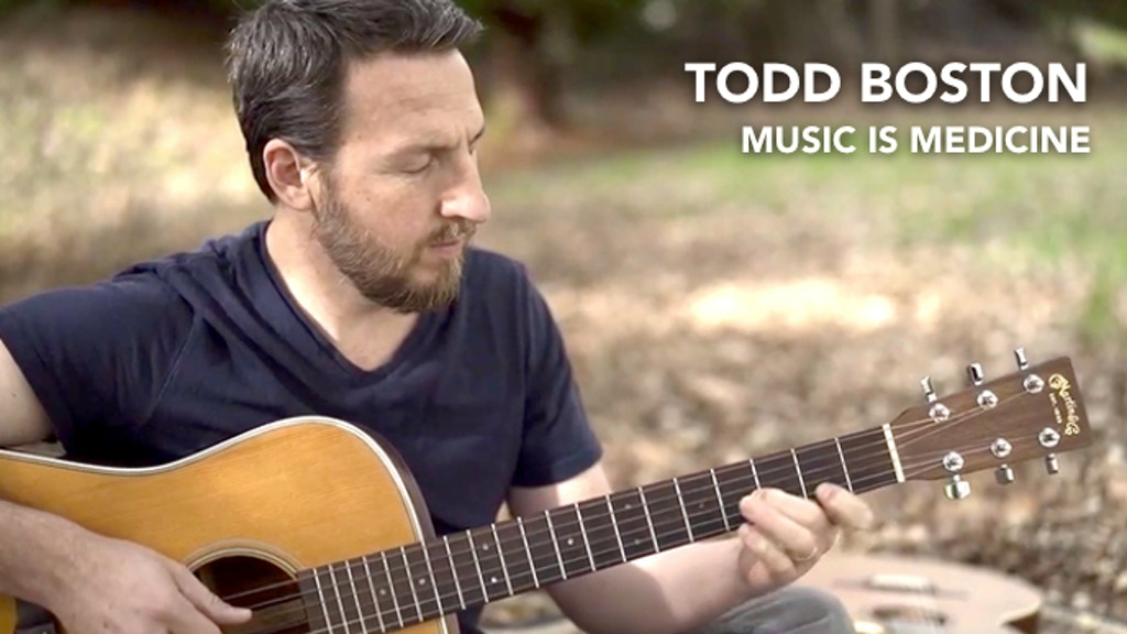 MUSIC IS MEDICINE / new album by Todd Boston project video thumbnail