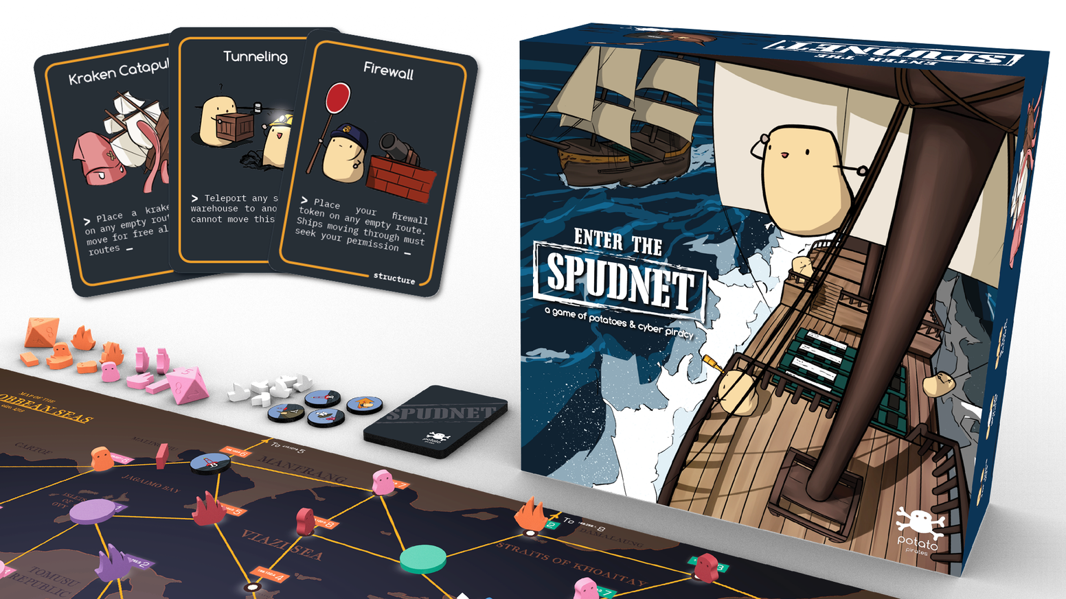 A standalone board game on cybersecurity and computer networking