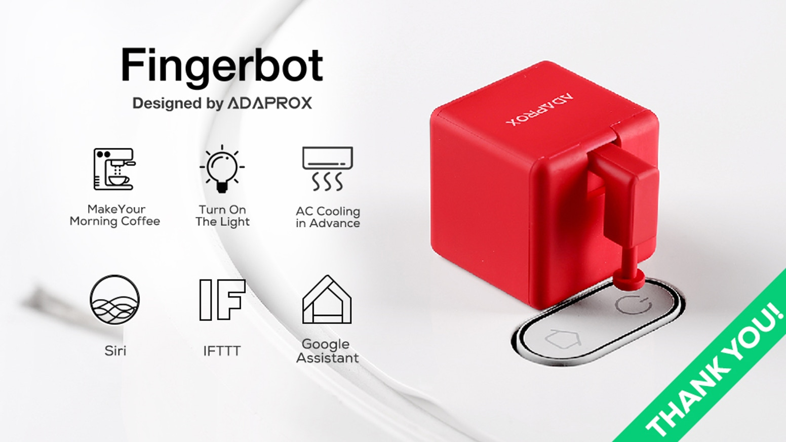 Make all traditional devices remotely controlled. Supports Alexa, Google Home, Siri and more. A simple step towards a smarter home.