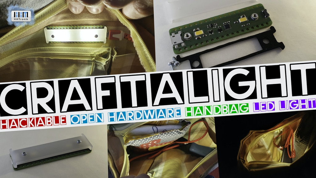 Project image for Craftalight | Brighten up your (hand)bags | MAKE 100