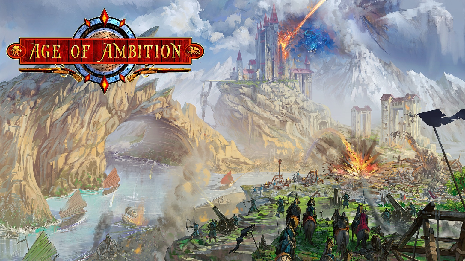 Age of Ambition is a tabletop roleplaying game (RPG) set in an age rapidly leaving the traditional fantasy milieu behind.