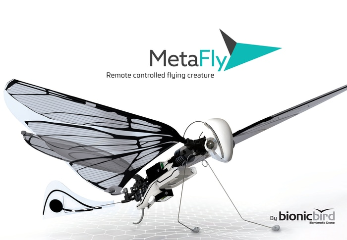 An absolutely unique biomimetic controllable creature. Forget about drones, it's time to experience flight like never before.
