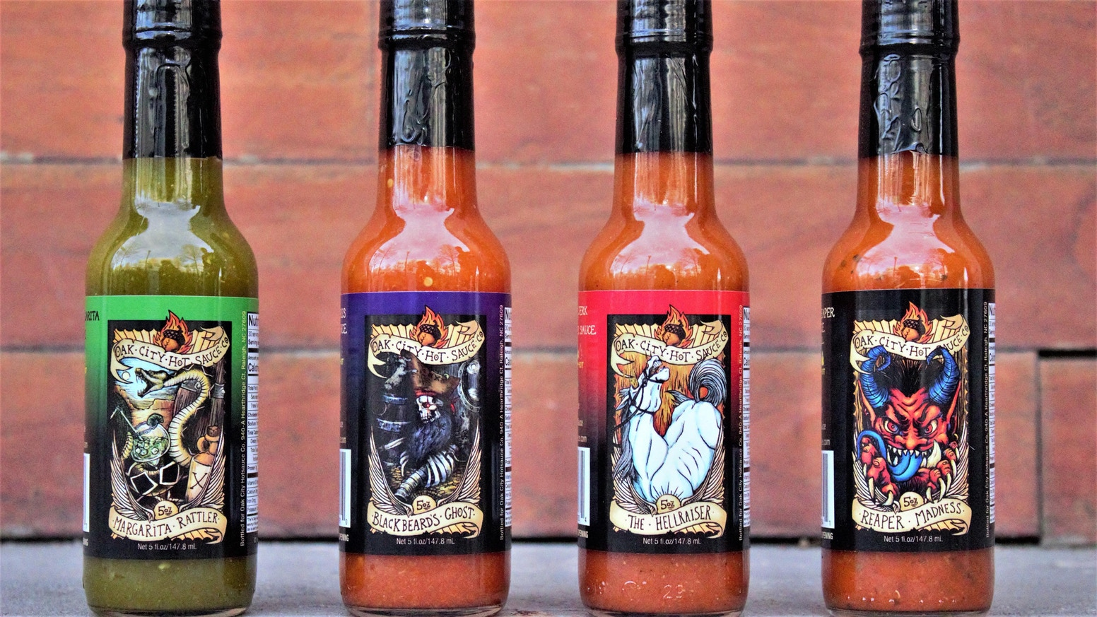 Oak City Hot Sauce, Chef Crafted and Award Winning