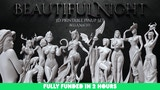 Beautiful Night - Gothic Pinup Set - STL Files for 3D Prints thumbnail