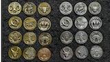 My Zodiac Coin - Swarovski® Crystals, 3D, Glow-In-Dark thumbnail