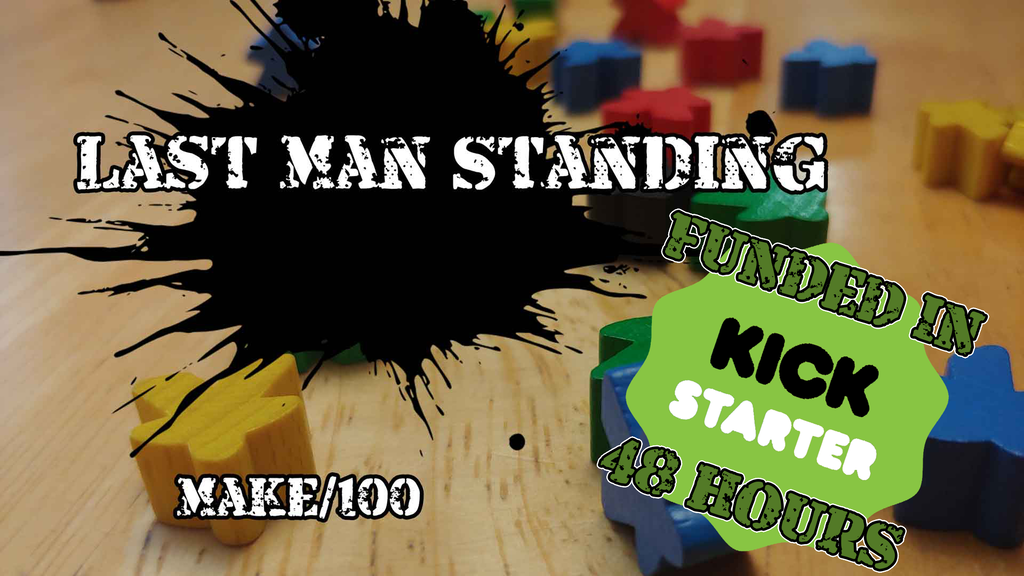 Last Man Standing: The Quick Draw Table Top Game project video thumbnail